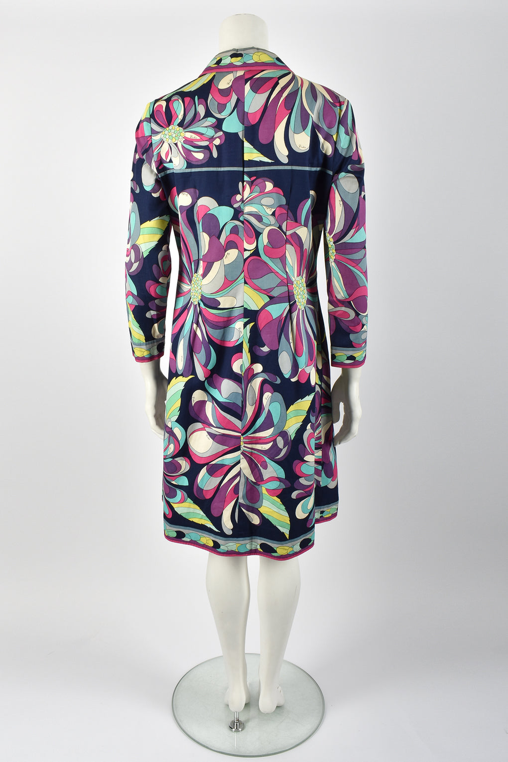 EMILIO PUCCI 60s cotton coat-dress / M-L