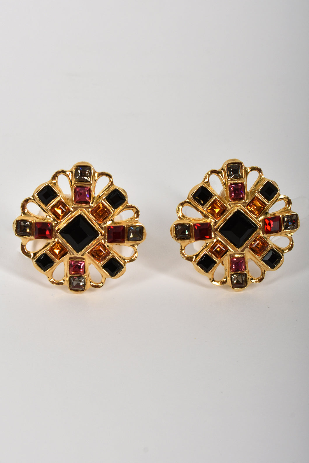 BUTLER & WILSON 80s clip-on earrings