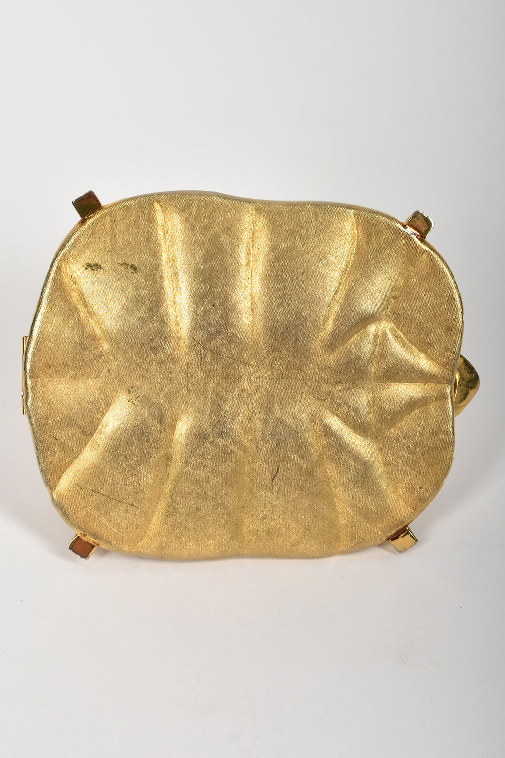 60s metal turtle bag