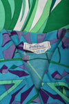 EMILIO PUCCI 70s cotton dress / S-M