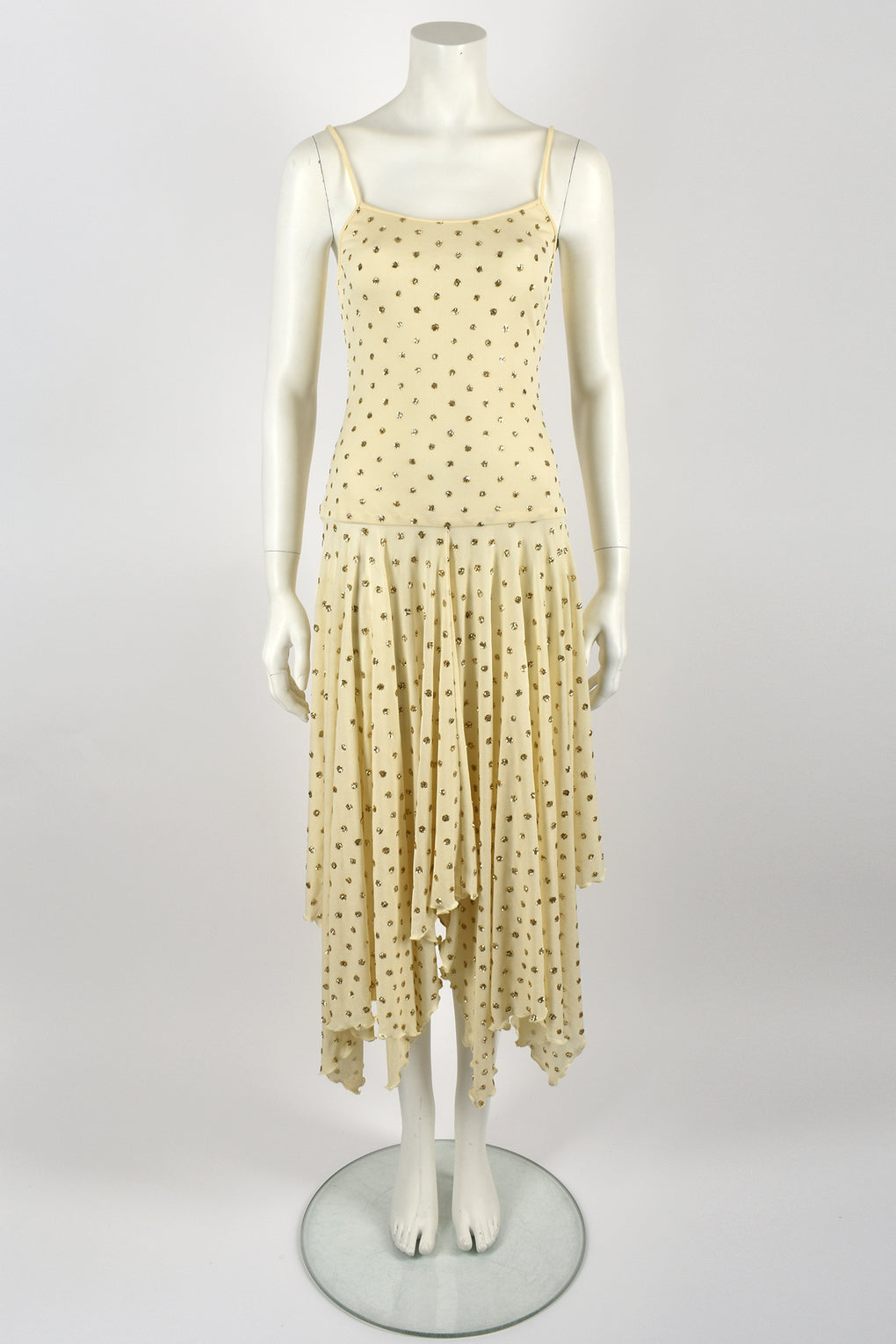 TERENCE NOLDER glitter dots jersey dress / S