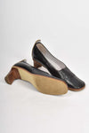 MAUD FRIZON black leather heels