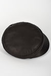 HERMES brown leather cap
