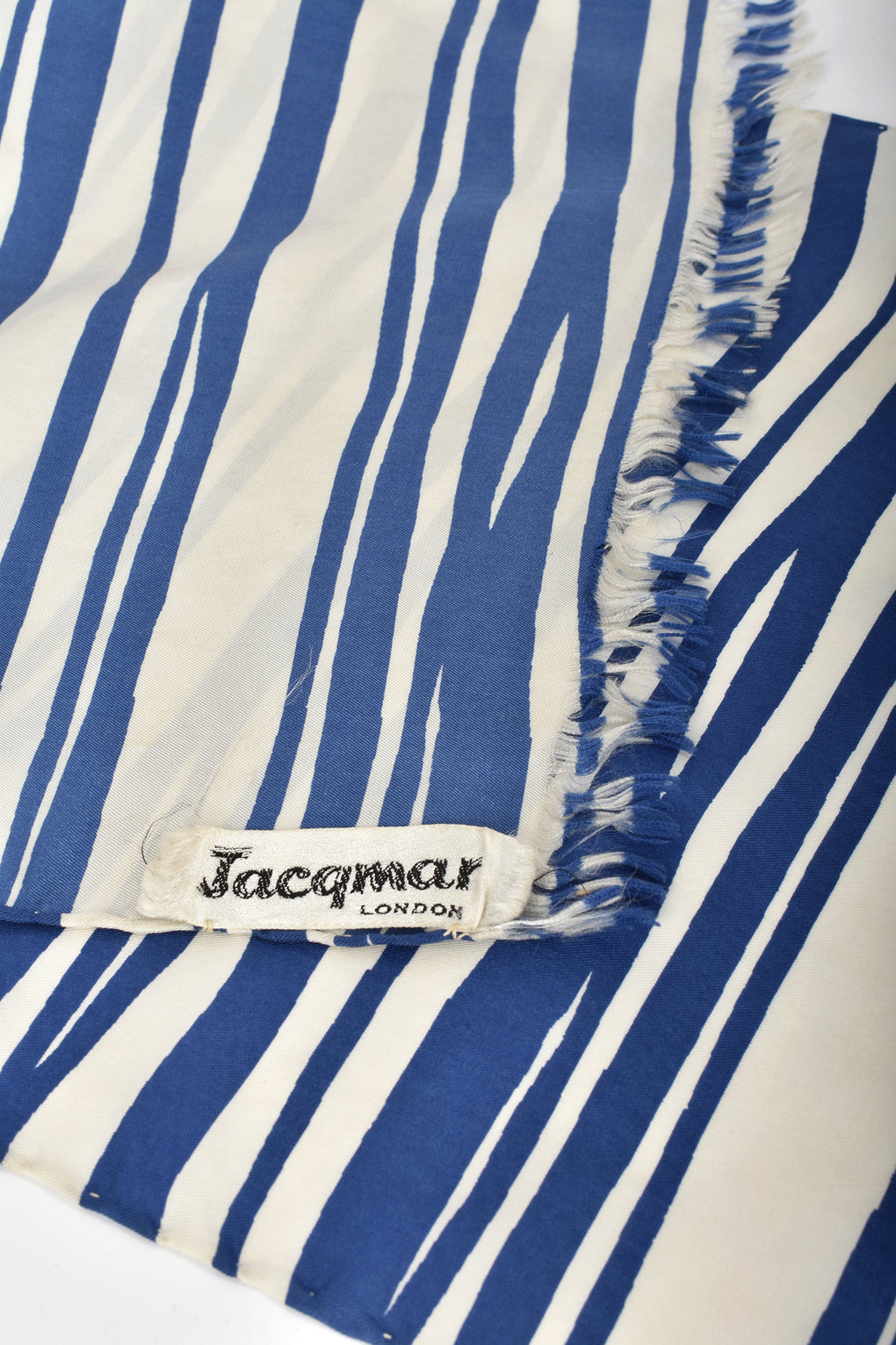 JACQMAR 60s long silk scarf