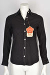 MARY QUANT polka dot shirt
