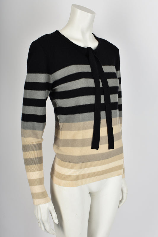 SONIA RYKIEL 70s NOS striped wool sweater M