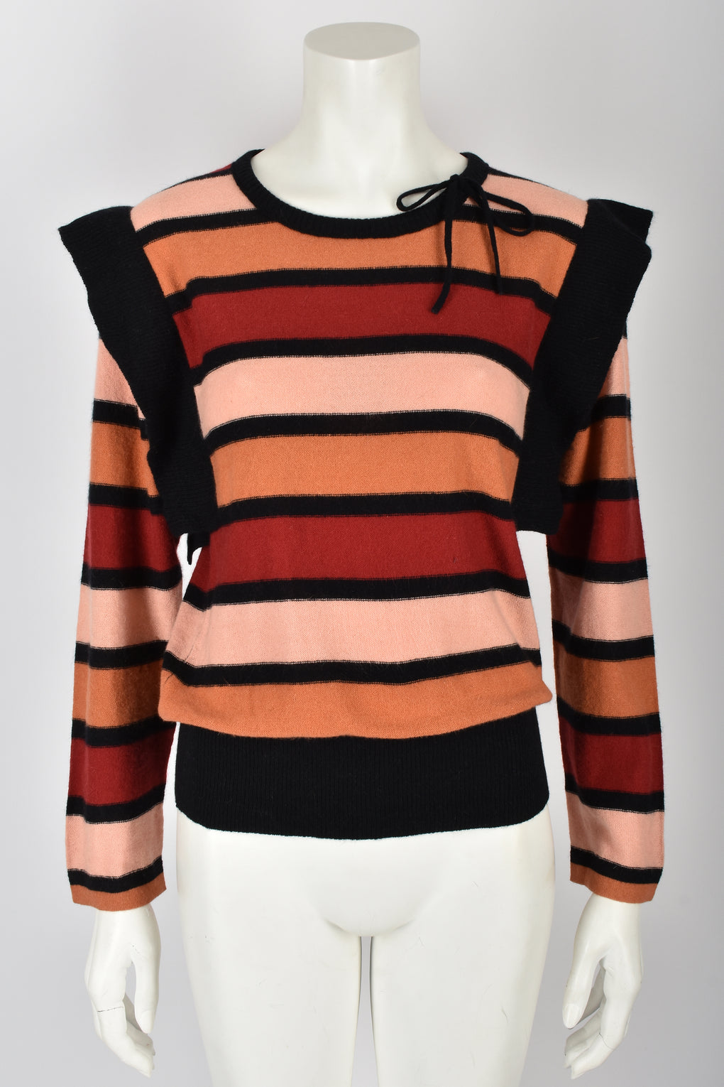 SONIA RYKIEL 70s striped wool sweater M
