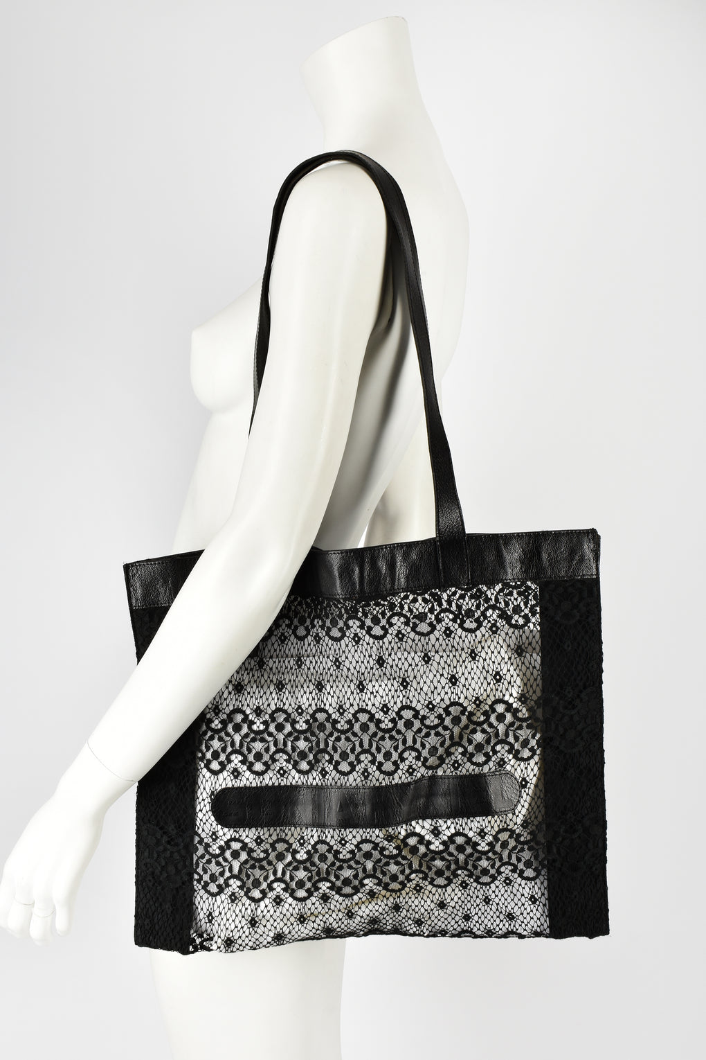 SONIA RYKIEL 70s lace shoulder bag