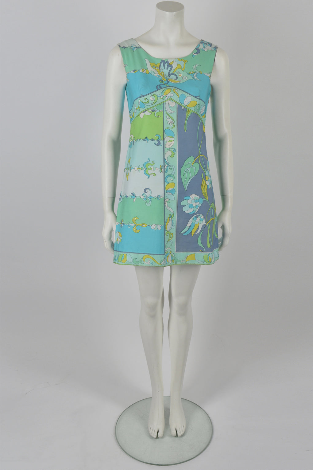 Emilio Pucci 60's print mini dress