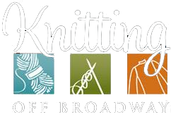 Knitting off Broadway