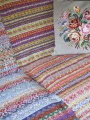 Marie Wallin Fair Isle Club Blanket Kit