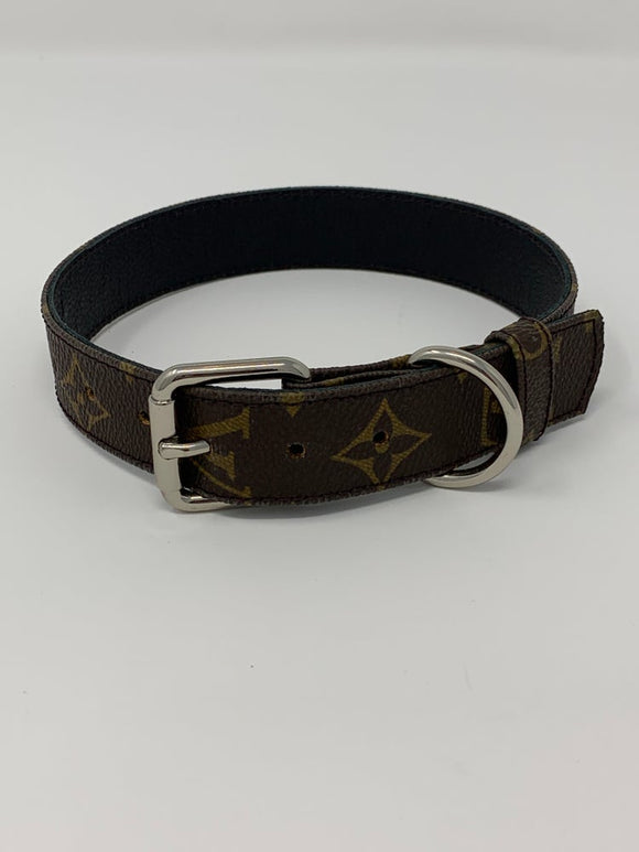 Custom LV OR GG dog collar.