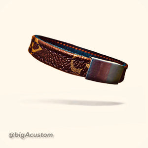 Custom LV MONOGRAM bracelet (all sizes available)