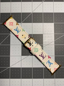 LOUIS VUITTON X MURAKAMI Apple Watch strap