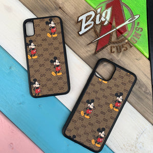 Custom Gucci x Disney Mickey iPhone case