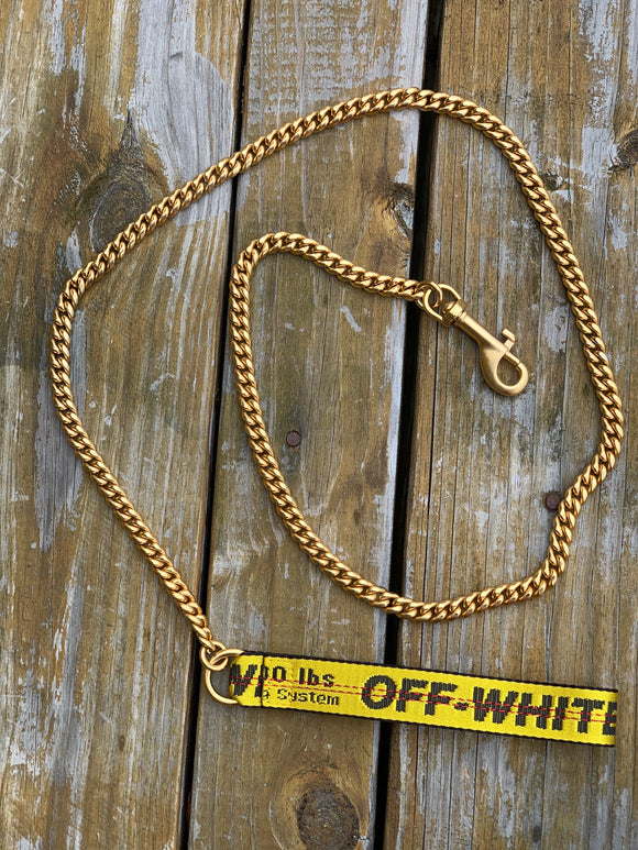 Custom OFF-WHITE Dog leash