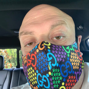Gucci Psychedelic Face mask
