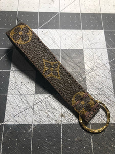 Custom LV key chain in the original monogram