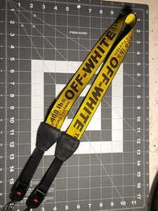 Off white industrial camera strap.
