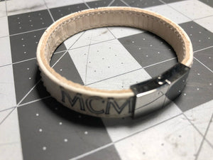 White MCM bracelet (all sizes)