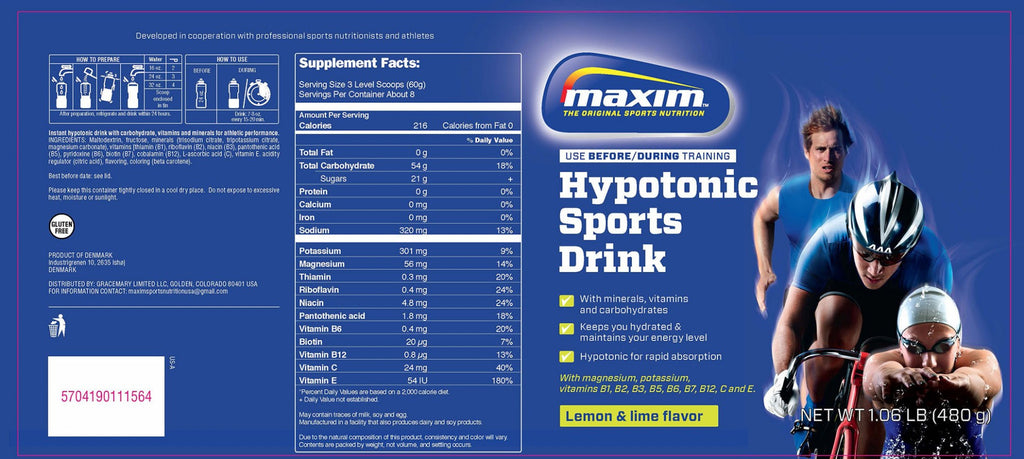 Maxim Hypnotic Sports Drink