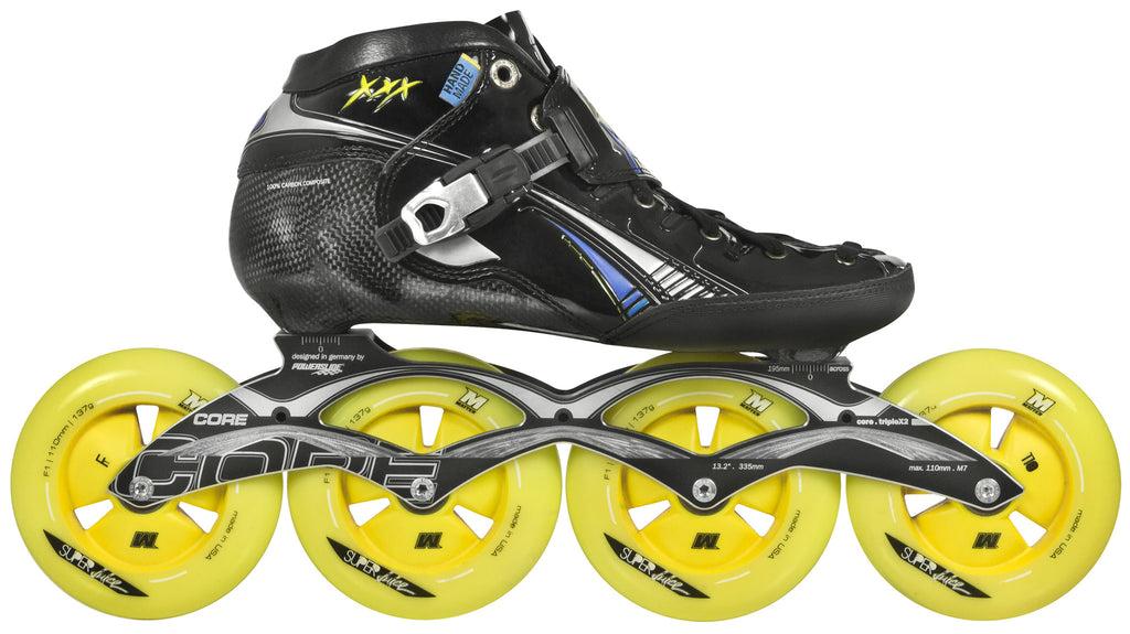 Powerslide Triple X Skate Package