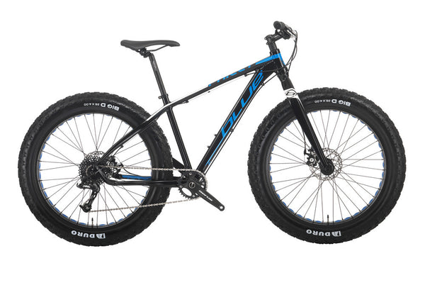 Blue Philly Aluminum Fatbike with Shimano X5