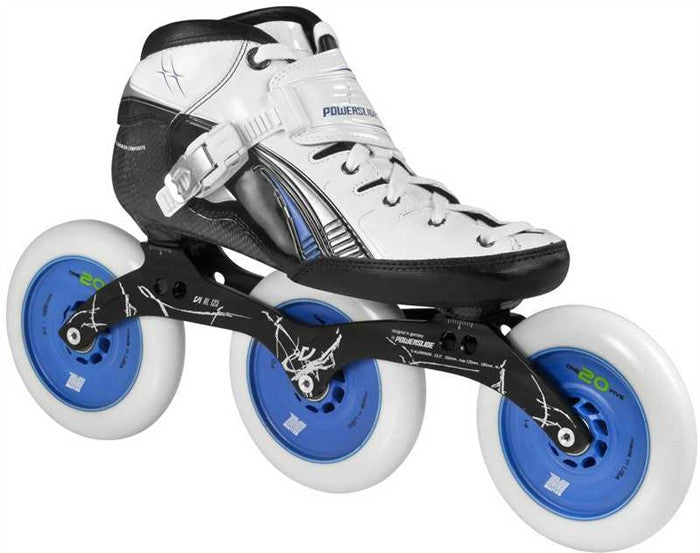 Powerslide Double X 125MM Skate Package