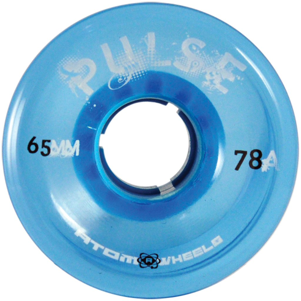 Atom Blue Pulse outdoor quad wheel available @ Atom Skates