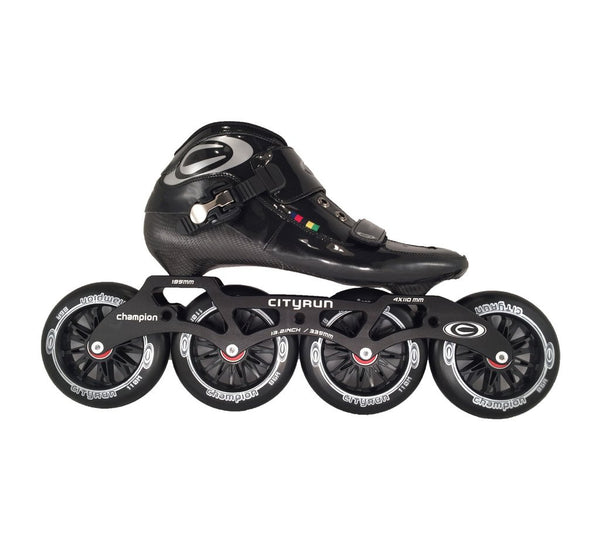 City Run Dreamer Black Skate Package