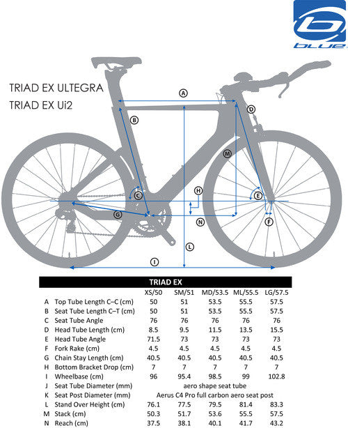 Blue Triad Expert with Shimano Ultegra