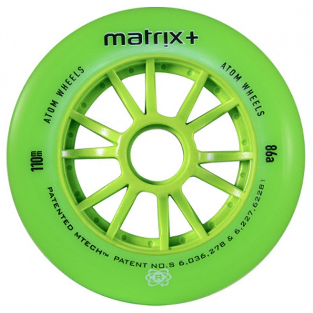 Atom Matrix+ Outdoor inline skate wheel