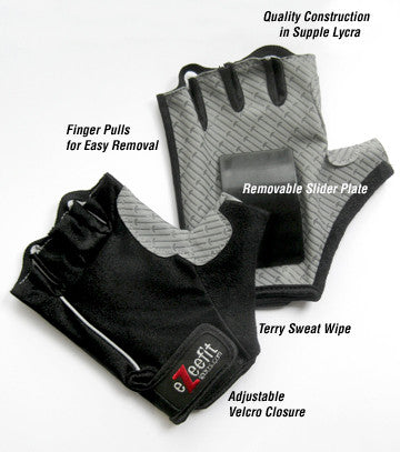 eZeefit Sports Skate Gloves