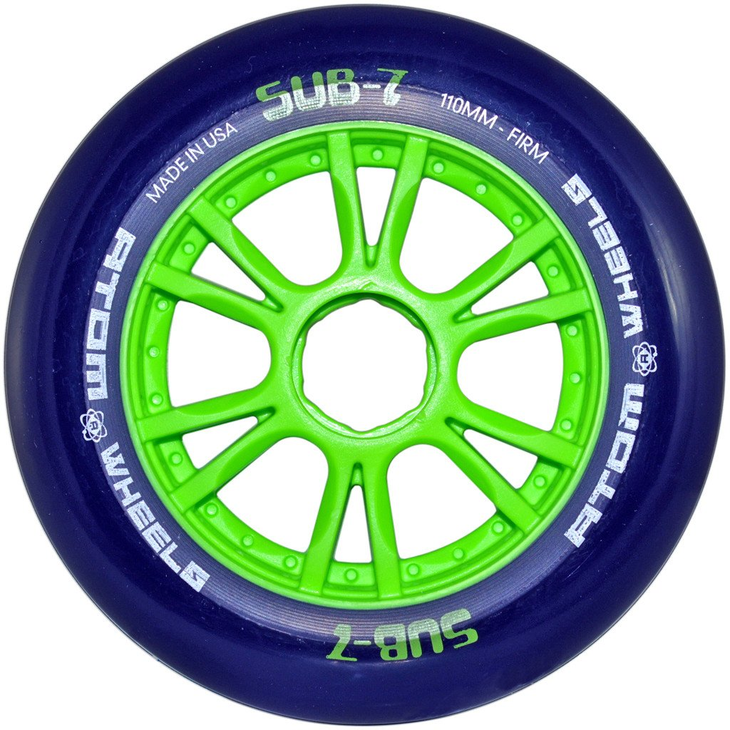 Atom Sub-7 indoor inline skate race wheel