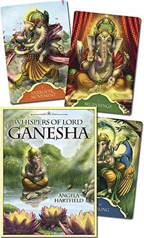 Whispers of Ganesh Deck, Angela Hartfield