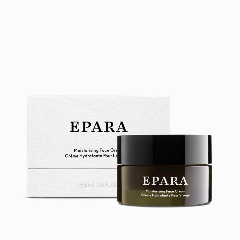 Moisturising Face Cream 50ml - Softens Skin - Epara Skincare