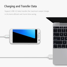 Load image into Gallery viewer, Metal braided premium quality magnetic charging cable (3 in 1)