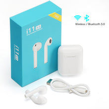 Load image into Gallery viewer, i11 TWS Earbuds Headphones with Mic