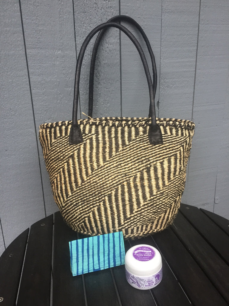 Zebra Handbag Gift Basket - 10% off!