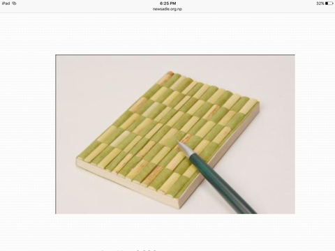Lotka Notebook with Bamboo Cover