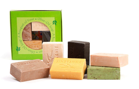 NEW! Olive Oil Peace Soap - 4 pk