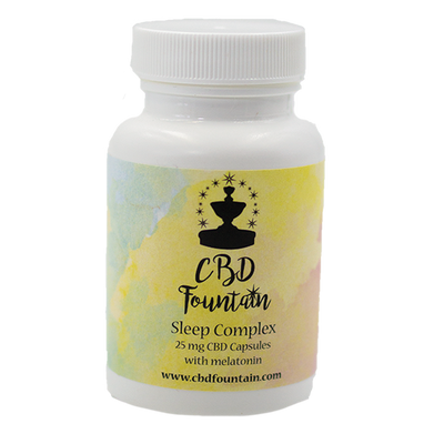 CBD Fountain CBD Fountain Sleep Complex Capsules Dark Khaki