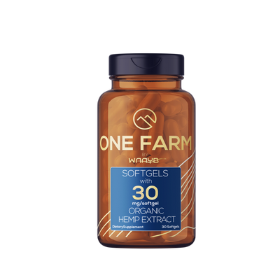 ONE Farm Organics CBD Softgels Sienna