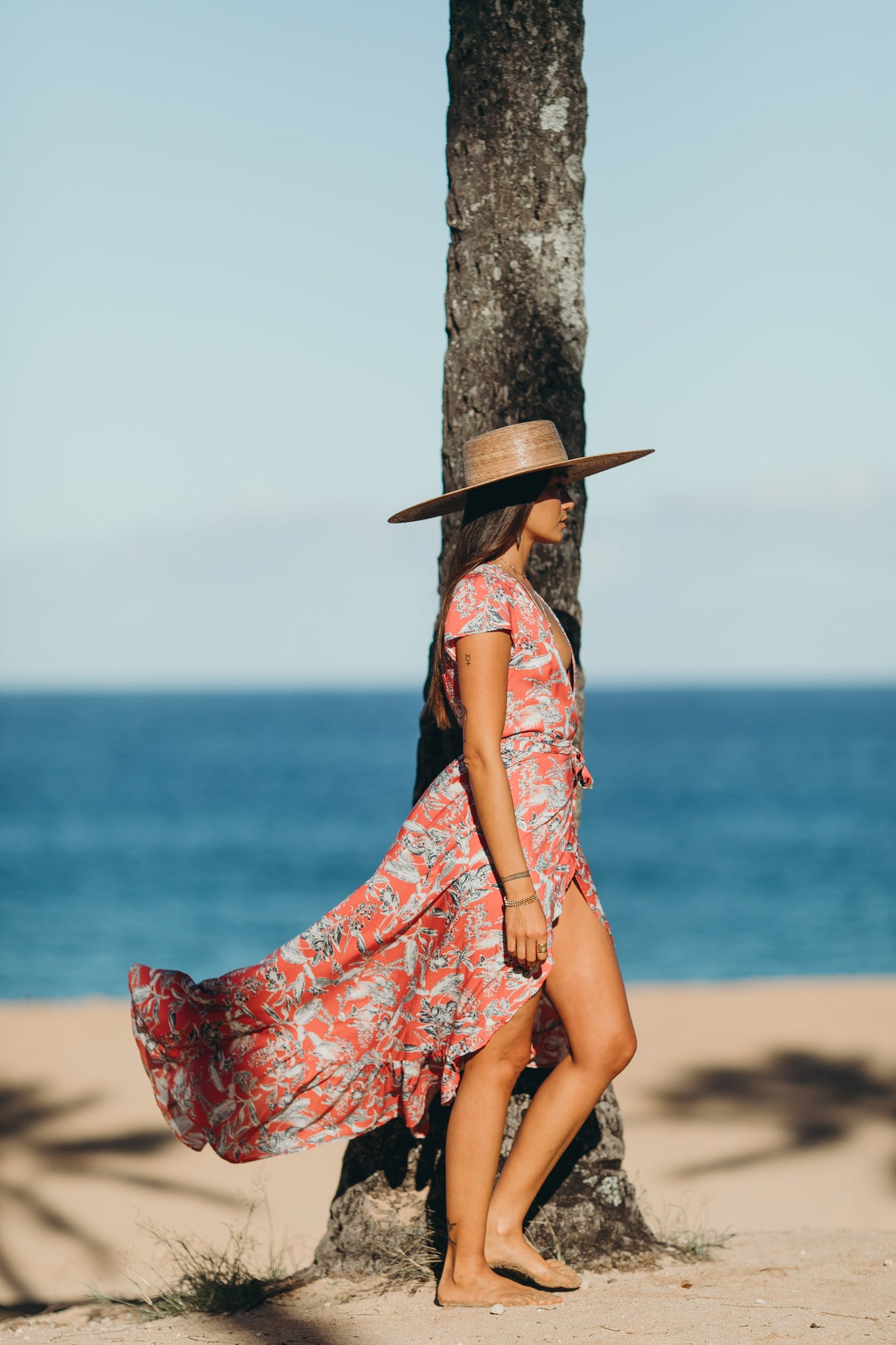 El Camino Wrap Dress