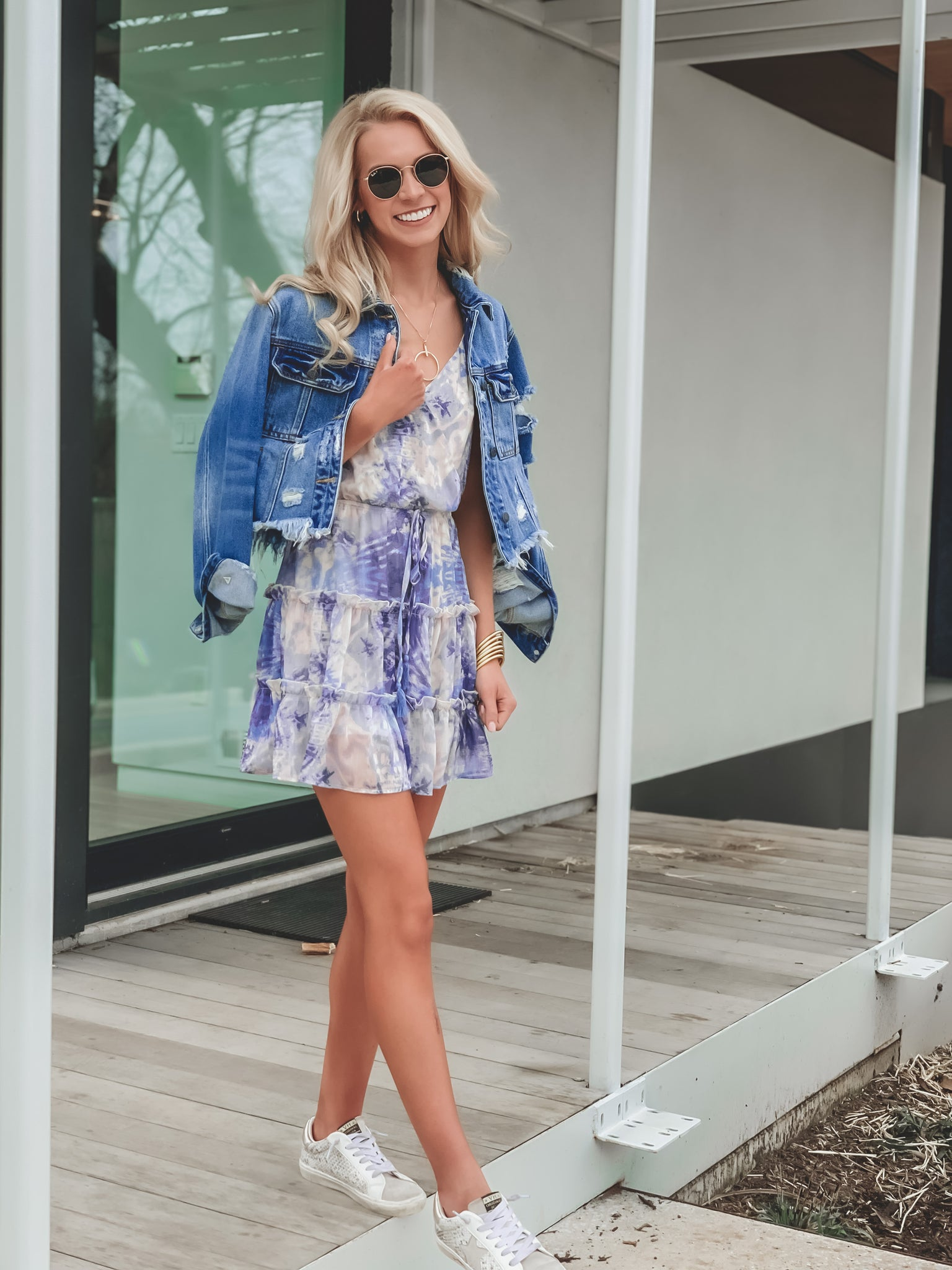 Vacate Tie Dye Dress