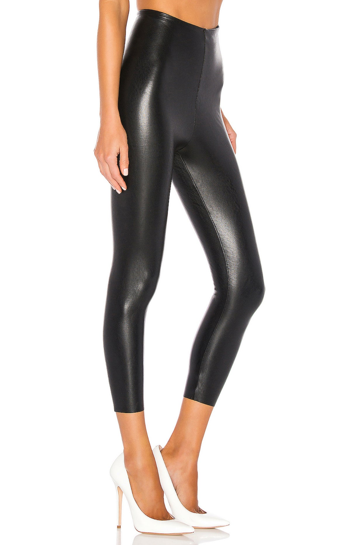 Perfect Control Faux Leather Legging