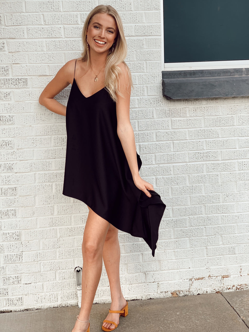 Black Sweet Nights Dress