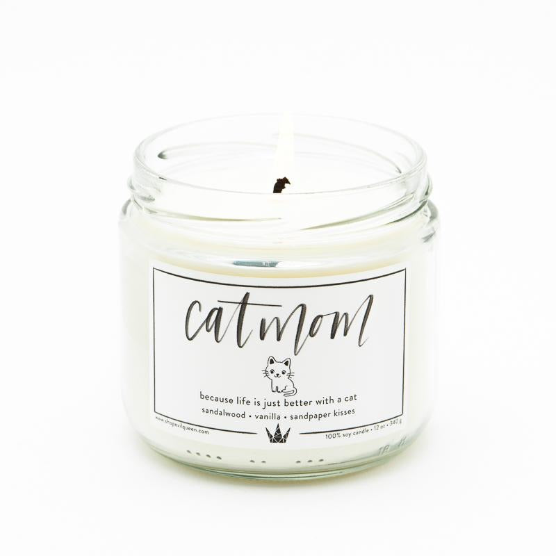 Cat Mom Candle