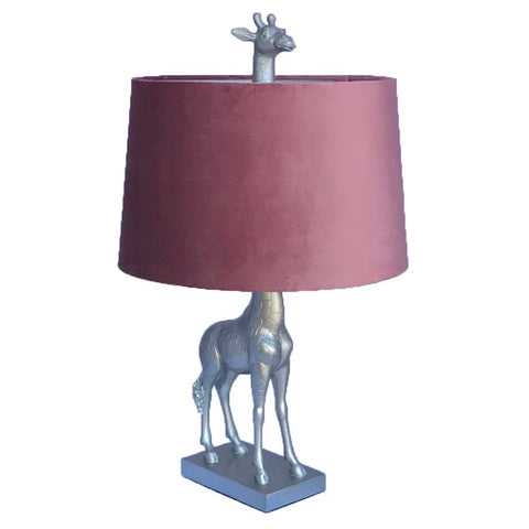 GIRAFFE ANTIQUE TABLE LAMP