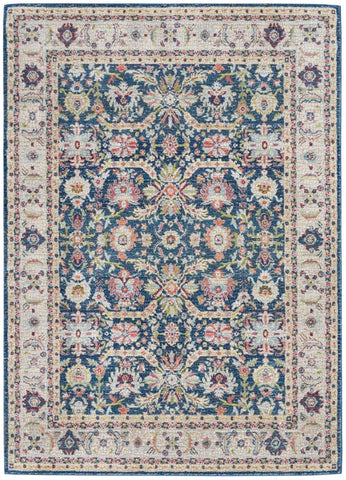 ANKER TURKISH RUG NAVY - AVAILABLE TO ORDER